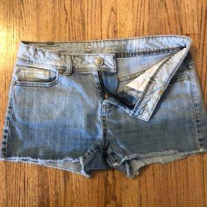 Lauren Conrad cut off denim shorts
